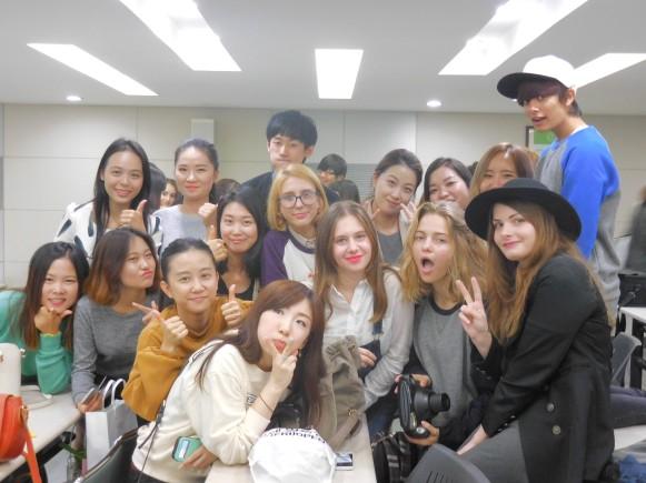 Our 3급C반 classmates and teachers